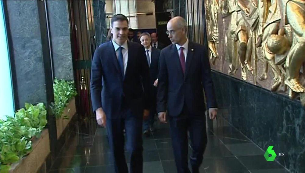 Pedro Sánchez y el primer ministro andorrano