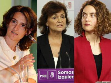 Ábalos, Ribera, Calvo y Batet