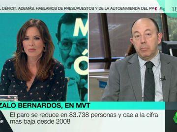 """<p>Gonzalo Bernardos: """"Pongo una matrícula a Rajoy en suerte. No tenía un trébol de cuatro hojas, tenía un jardín""""</p>"""