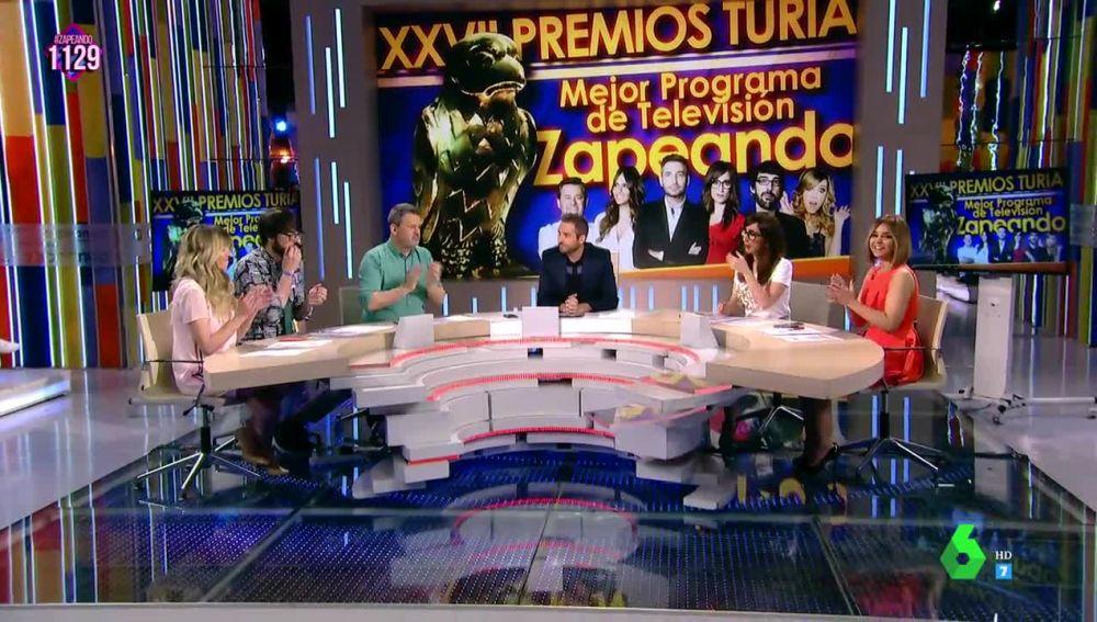 Zapeando gana el Huevo de Colón al Mejor Programa de Televisión