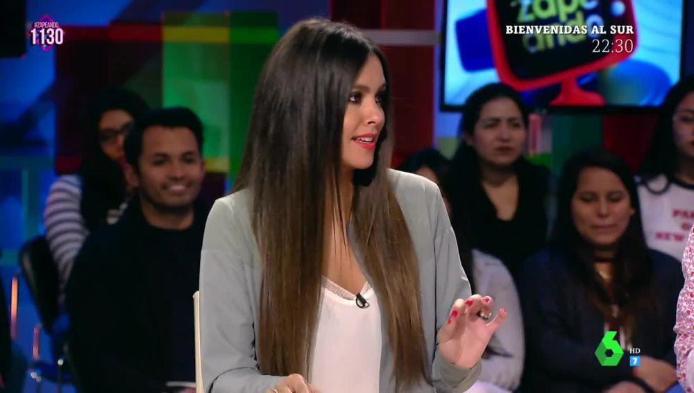 Cristina Pedorche, en Zapeando