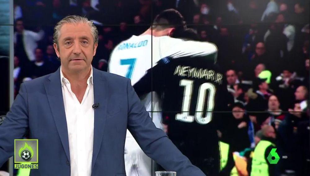 """<p><span>Josep Pedrerol: """"Que Cristiano llame a Neymar. Seguro que le convence... para que se quede en París""""</span></p>"""