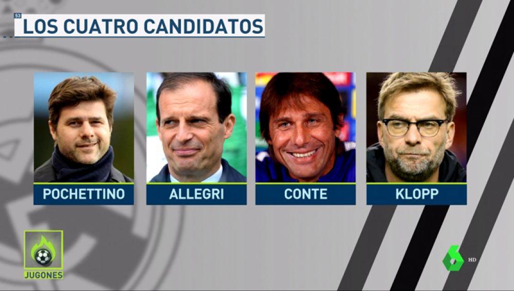 <p>NOTICIA JUGONES: El Real Madrid presentará al nuevo técnico la próxima semana</p>