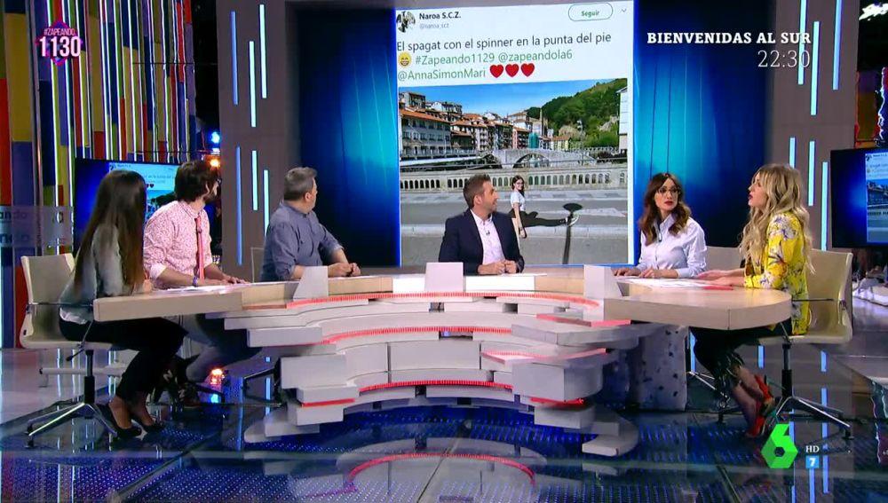 Zapeando comenta un tuit