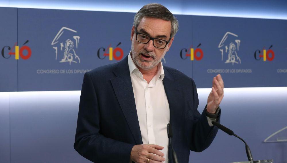 El secretario general de Ciudadanos, José Manuel Villegas