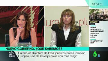 """<p>Angéliga Rubio da las claves del Gobierno de Sánchez: """"Con Borrell se manda el mensaje de que no hay negociación con independentistas""""</p>"""