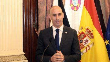 Luis Rubiales, presidente de la RFEF