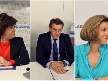 Posibles candidatos a sustituir a Rajoy al frente del PP