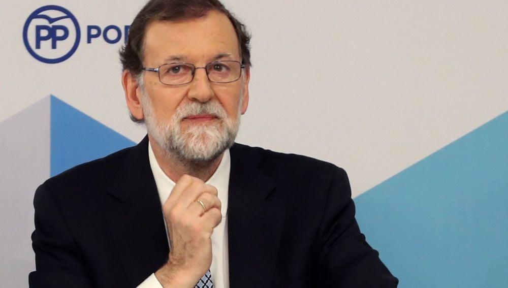 Rajoy en el Comité Ejecutivo Nacional del PP