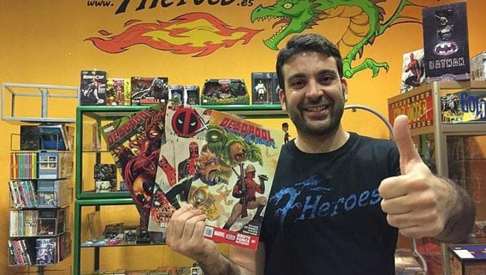 Salva Espín, dibujante de Marvel Comics