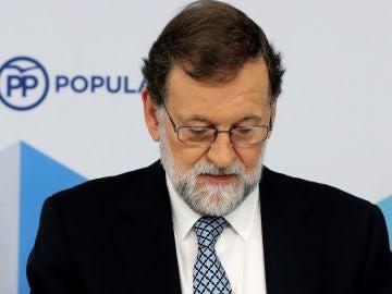 Emocionada despedida de Mariano Rajoy de la presidencia del PP