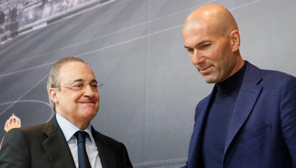 Oficial Zidane Nuevo Entrenador Del Real Madrid Hasta 2022 La Sexta Tv Noticias
