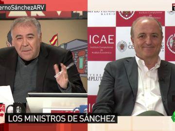 """<p>Miguel Sebastián analiza el perfil de Pedro Duque: """"Siempre ha tenido ganas de colaborar y el PP nunca colaboró con él""""</p>"""