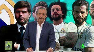 <p>Jugadores del Real Madrid contactan con Pochettino</p>