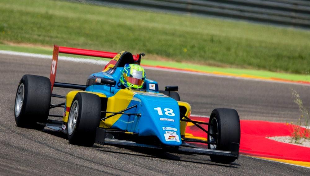 Guillem Pujeu en Fórmula 4