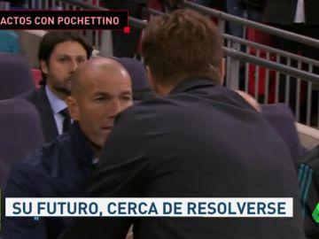 <p>Varios jugadores del Real Madrid han llamado a Pochettino</p>