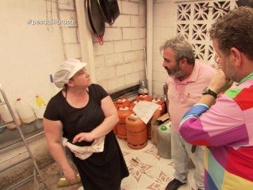 Pedro y Mari Carmen discuten en Pesadilla en la cocina: El Rosal