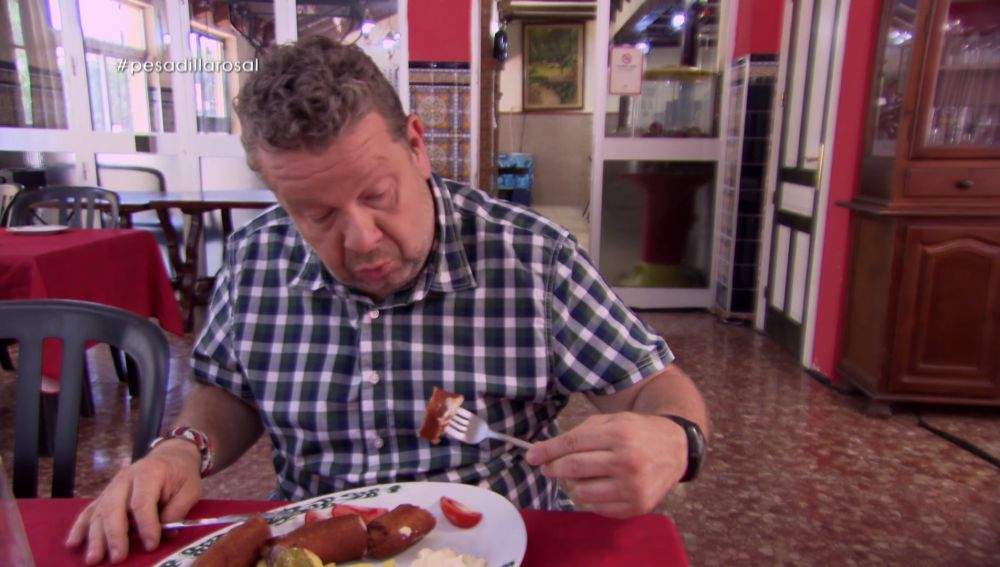 Alberto Chicote en Pesadilla en la cocina: El Rosal