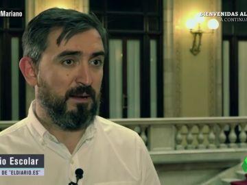 """<p>Ignacio Escolar: """"Álvaro Lapuerta mandó un mensaje a Mariano Rajoy para contarle que había recibido amenazas telefónicas""""</p>"""