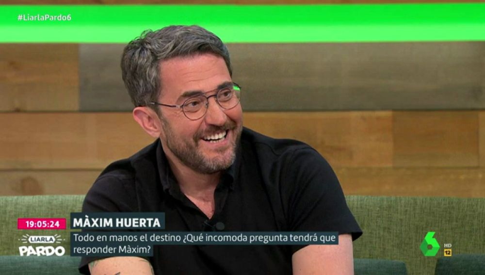 Màxim Huerta en Liarla Pardo