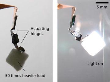 Robot que se activa con luz