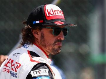 Fernando Alonso, en el trazado de SPA el pasado mes de mayo