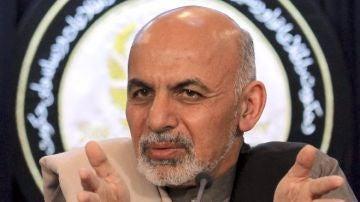 El presidente afgano, Ashraf Ghani (Archivo)