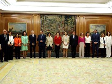 Imagen del equipo de ministros de Pedro Sánchez