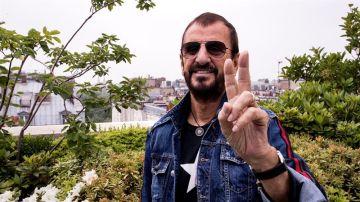 El músico británico Ringo Starr