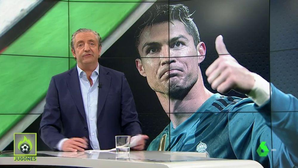 """Josep Pedrerol: """"Que Cristiano y Florentino cedan, se hagan una foto y la web del club publique: """"Se queda"""""""""""