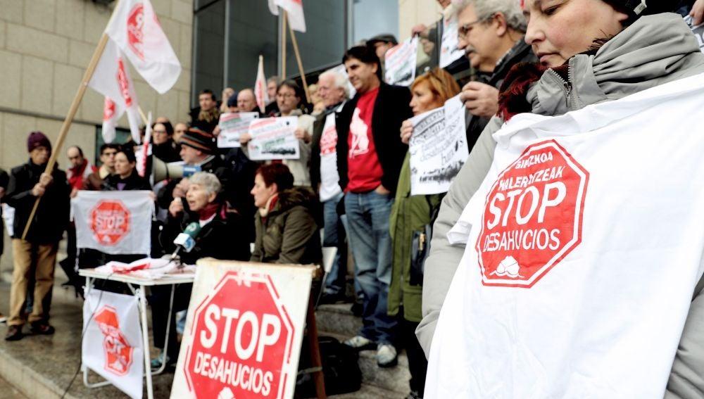 Concentración de Stop Desahucios
