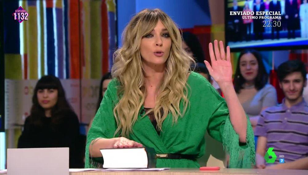 Anna Simon 'mejora' la toma de posesión como ministro de Cultura de Màxim Huerta