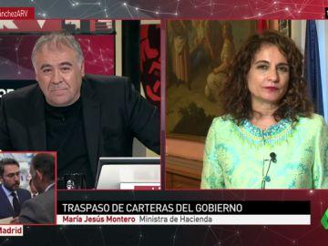 """<p>María Jesús Montero, ministra de Hacienda: """"Caminaremos con estos presupuestos, nuestra mirada está en las próximas cuentas""""</p>"""
