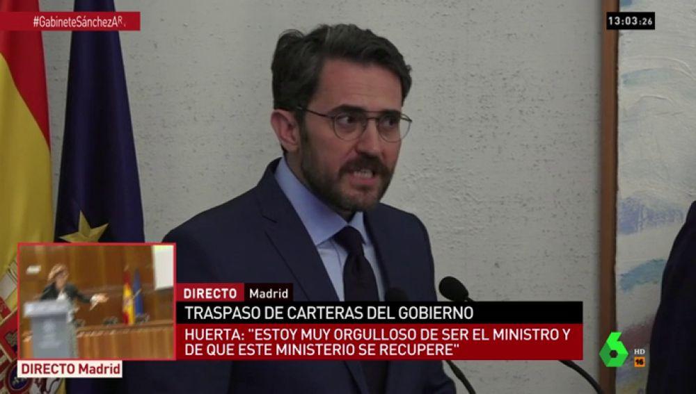 """<p>El alegato del ministro Màxim Huerta a favor de la cultura: """"No puede ser bandos, tiene que ser orgullo de todos""""</p>"""