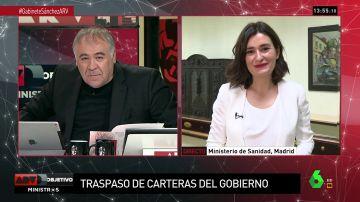 """<p>Carmen Montón, ministra de Sanidad: """"La salud es un derecho, y los derechos se garantizan desde lo público""""</p>"""