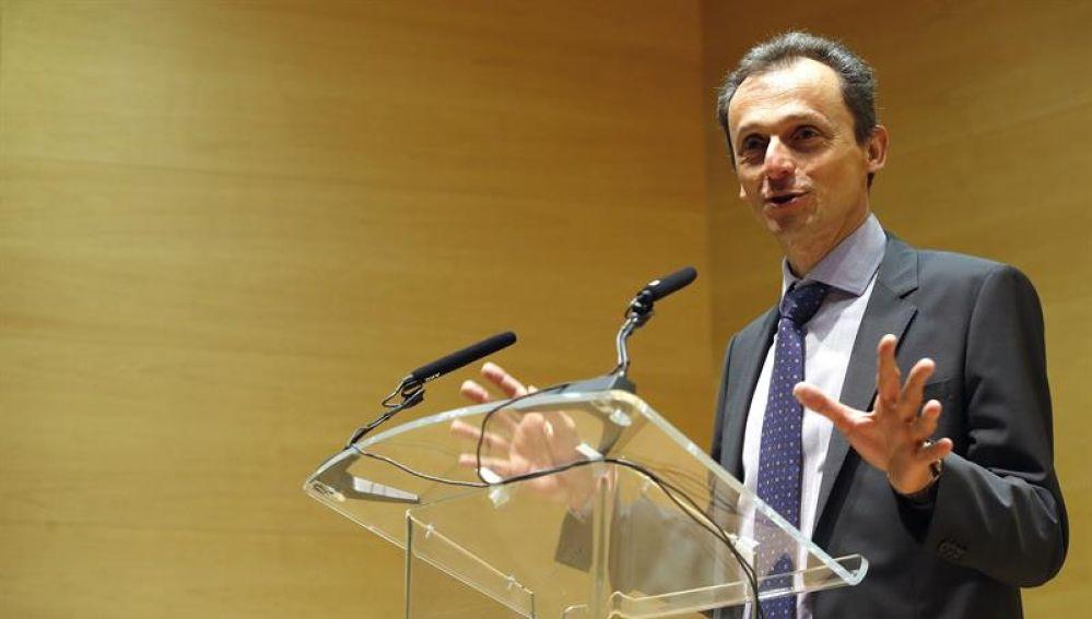 El ministro de Ciencia, Innnovación y Universidades Pedro Duque