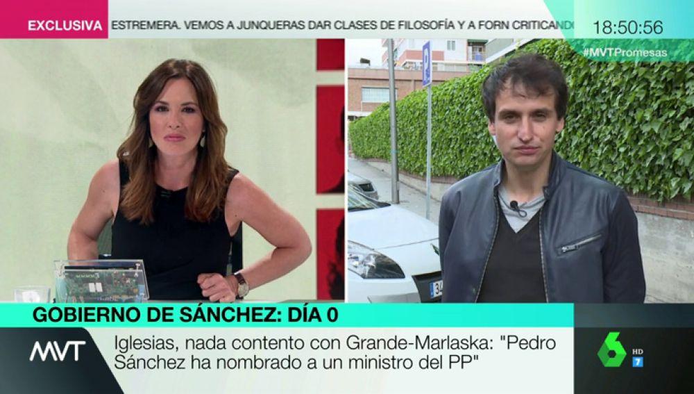 """<p>Orriols, sobre el Gobierno de Sánchez: """"La última década nos ha enseñado que gobernar es una trituradora de partido""""</p>"""