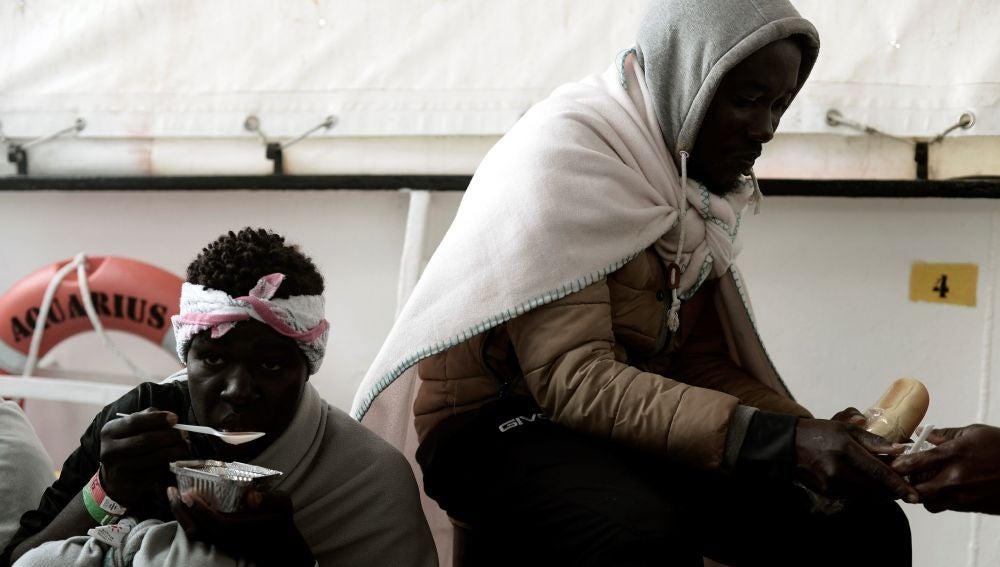 """Fotografía facilitada por la ONG """"SOS Mediterranee"""""""