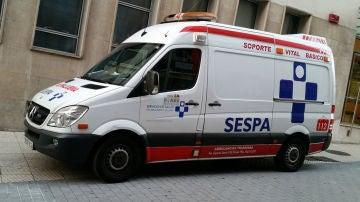 Una ambulancia de Asturias