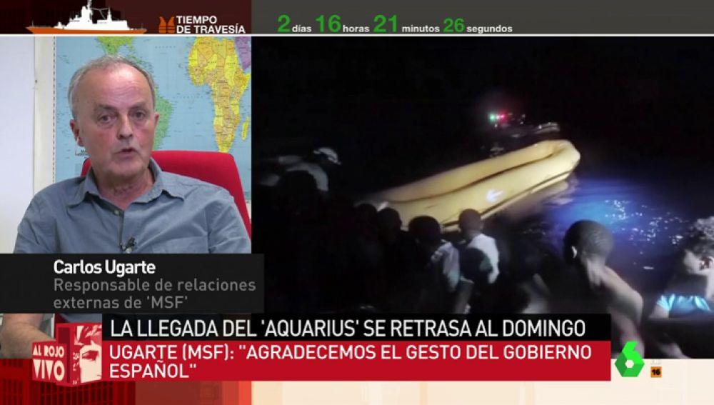 """Así fue el """"dramático"""" rescate de los migrantes del Aquarius: """"Una patera se rompió y más de 40 pesonas cayeron al agua"""""""