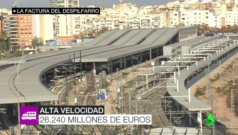 La factura del despilfarro en España