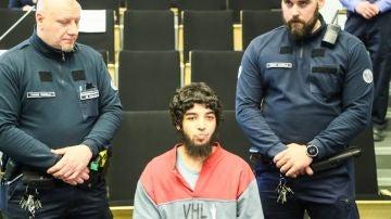 El joven yihadista marroquí que apuñaló a diez personas en agosto de 2017 en Turku (suroeste de Finlandia)