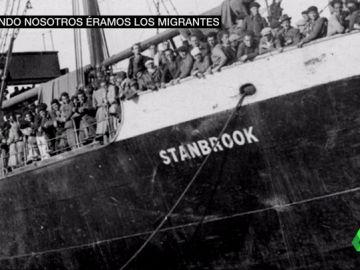 Cuando nosotros fuimos migrantes: el relato de Helia y los supervivientes del 'Stanbrook' que huyeron de la Guerra Civil a Argelia