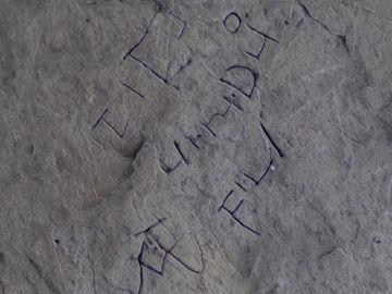 La nueva inscripción encontrada en Tintagel