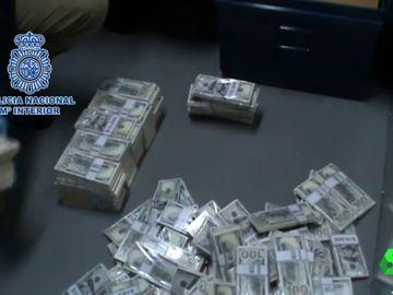 Dinero obtenido con la estafa de las cartas nigerianas