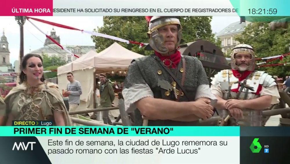 Los 'romanos' invaden Galicia en junio: Lugo se viste de su pasado para celebrar las fiestas de Arde Lucus