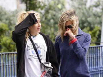 La madre y la hermana de Diana Quer se derrumban en la reconstrucción del crimen
