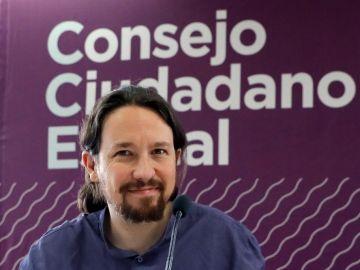 Iglesias en el Consejo Ciudadano Estatal de Podemos