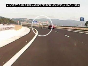 Kamikaze que intentó suicidarse tras estampar en coche en el que viajaba con su mujer