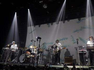 El grupo Japonés Cornelius, durante la tercera jornada del festival Sónar, que este año cumple su 25 aniversario